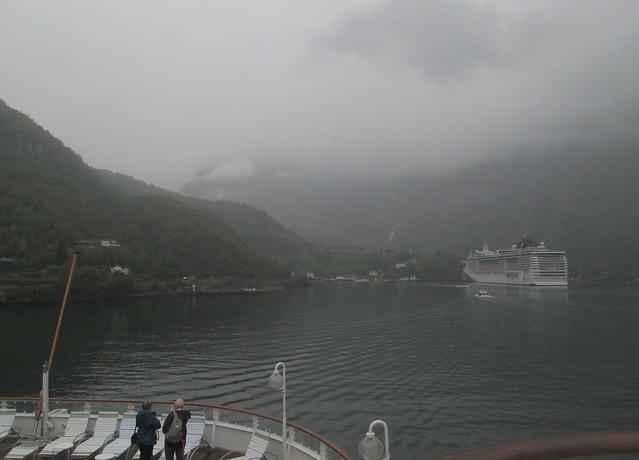 Flåm from Aurlandsfjord