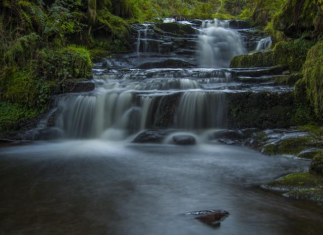 Talybont. waterfall