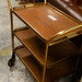 Brass tea trolley E35