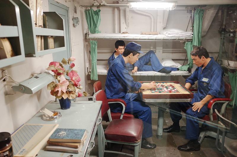 名古屋港南極観測船ふじ船内船員寝室
