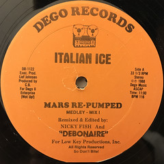 ITALIAN ICE:MARS RE-PUMPED(LABEL SIDE-A)