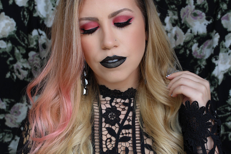How to Wear Black Lipstick Jackie Giardina Living After Midnite Beauty Blogger
