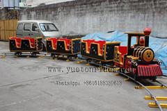 New finish track train Zhengzhou Yueton Amusement Equipment Co., Ltd Email: sales003@yuetoncn.com Office Phone: 86-371-55699559 Phone/Whats app: +86-13703937821 Website: www.yutonrides.com