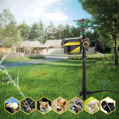 Digoo DG-AK7 Garden PIR Sensor Animal Repeller Solar Energy Auto-rotation Water Sprinkler (1137663) #Banggood