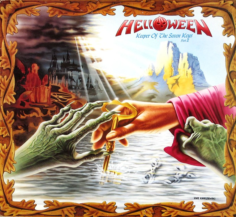 "HELLOWEEN KEEPERS OF THE SEVEN KEYS PART II FOC 12"" LP VINYL"