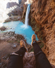 🌎 Havasu Falls, Arizona, US   📷 Braedin Toth