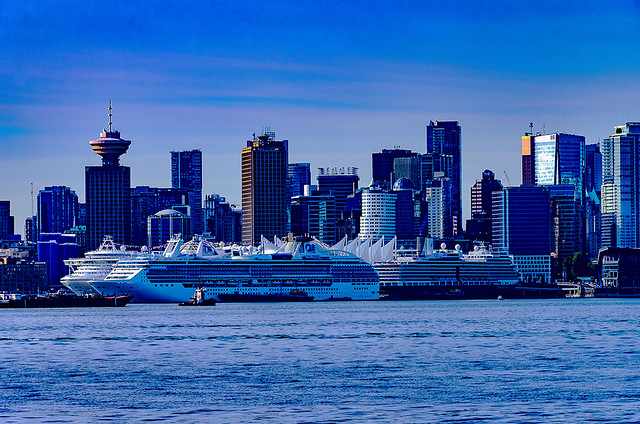 Downtown Vancouver & Cruise Ships