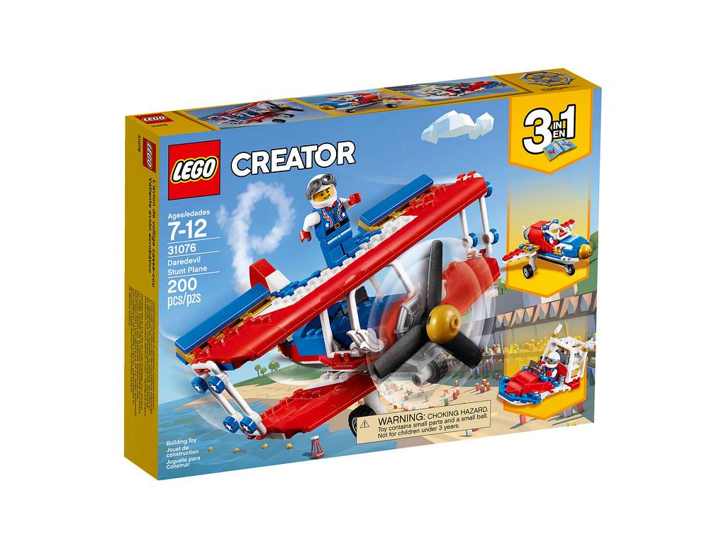LEGO Creator 31076 - Daredevil Stunt Plane
