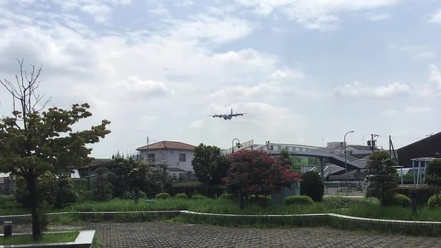 KC-130H 最終進入