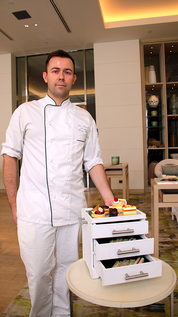 The Savoy's pastry chef Luc Bigeard at Fairmont Jakarta