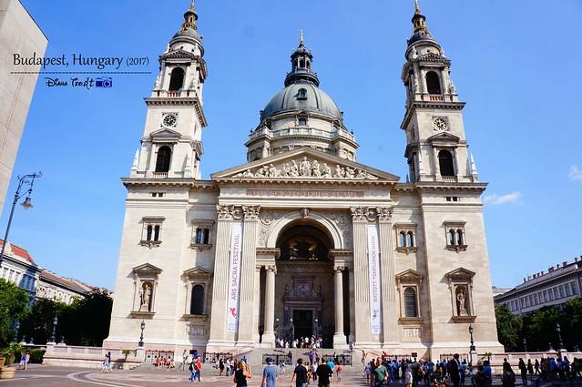 2017 Europe Budapest 01 St. Stephen's Basilica
