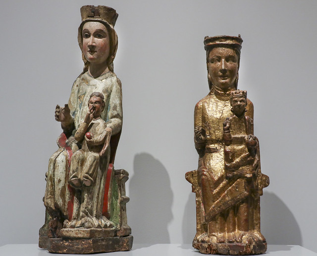 The Virgin and Child, Iberian Peninsula workshop, ca 1300. The Virgin and Child, Portuguese workshop, 1301-1350
