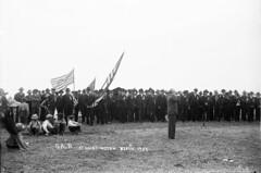 Grand Army of the Republic encampment at Methodist Campground, Huntington Beach, 1905