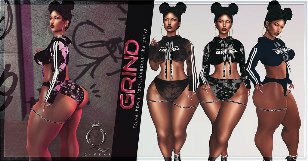 QUEENZ | G.R.I.N.D. - TeleportHub.com Live!