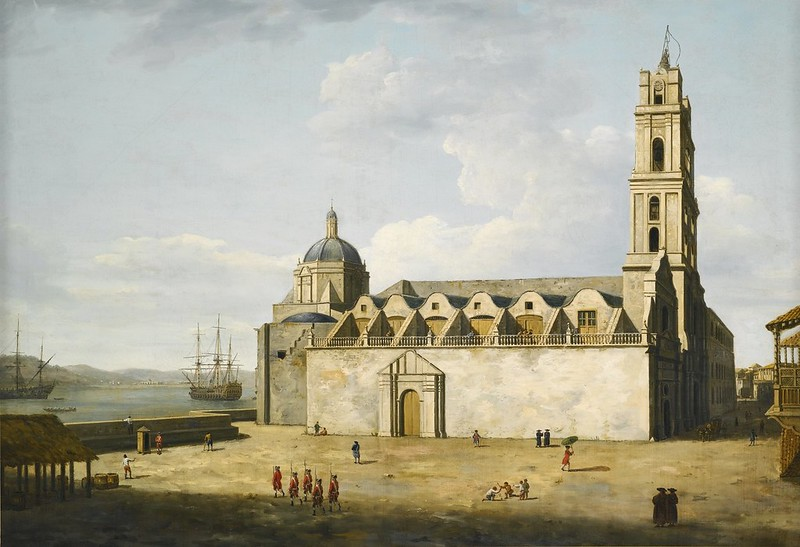 Dominic Serres - The Cathedral at Havana (1762)