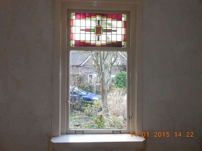 Hedendaags Glas-in-lood jaren 30   Atelier Domstad GO-36