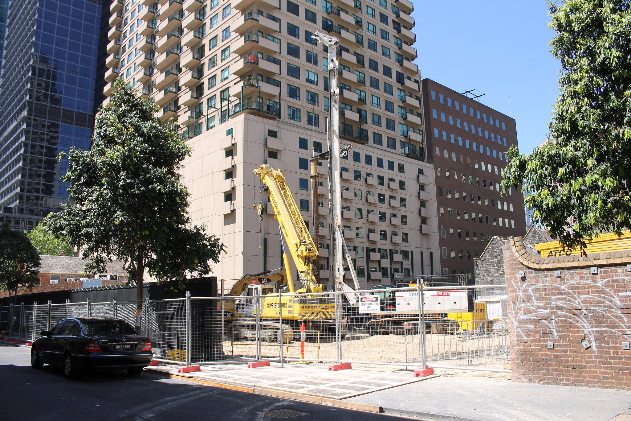CBD   130-150 Lonsdale Street   Wesley Place   33 & 22L   144m & 80m   Commercial