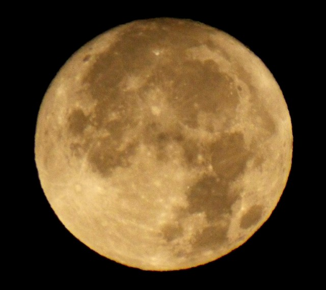 Moonset - 05am 05 Oct 17, Fujifilm FinePix S9200 S9250 S9150