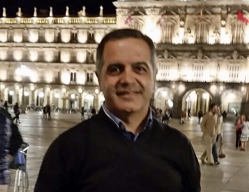 Juan J. Carrasco, candidato a hermano mayor de Borriquita