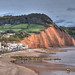 The Devon coast at Sidmouth