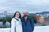 On top of Oslo Opera House