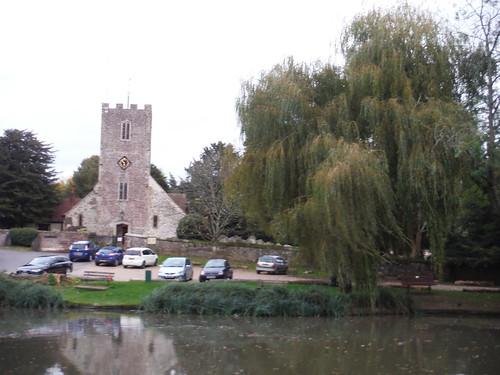 Buriton Pond and Church