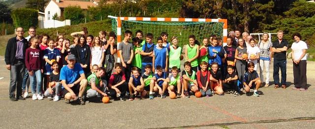 Le collège d'Unieux a sensibilisé les élèves aux pratiques sportives