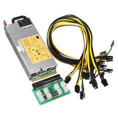 Watt Power Supply Kit for GPU Mining High Efficiency 94% ETH Ethereum (1192809) #Banggood