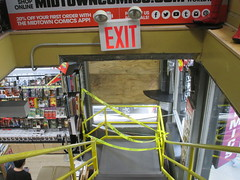 Man Jumps Out Midtown Comics Store 2nd Floor Window 2258