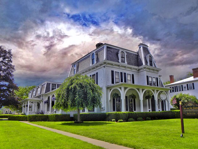 Canandaigua  New York  ~ Inn of the Main  ~ Queen Anne Architecture