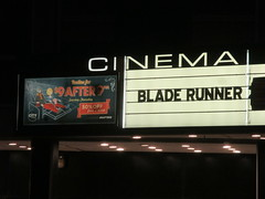 Blade Runner 2049 Theater Marquee 2017 NYC 2335