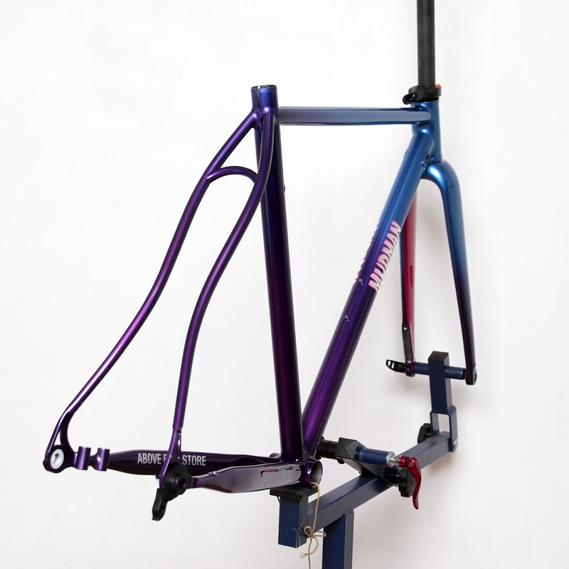 Mudman Disk Frame Made from EQUILIBRIUM CYCLE WORKS Painted by Swamp Things