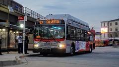 WMATA Metrobus 2007 New Flyer C40LFR #2824