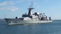 Irish Navy Ship Le James Joyce in Dublin 17th October 2017