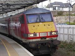 82206 arrives at Berwick-upon-Tweed (18/10/17)