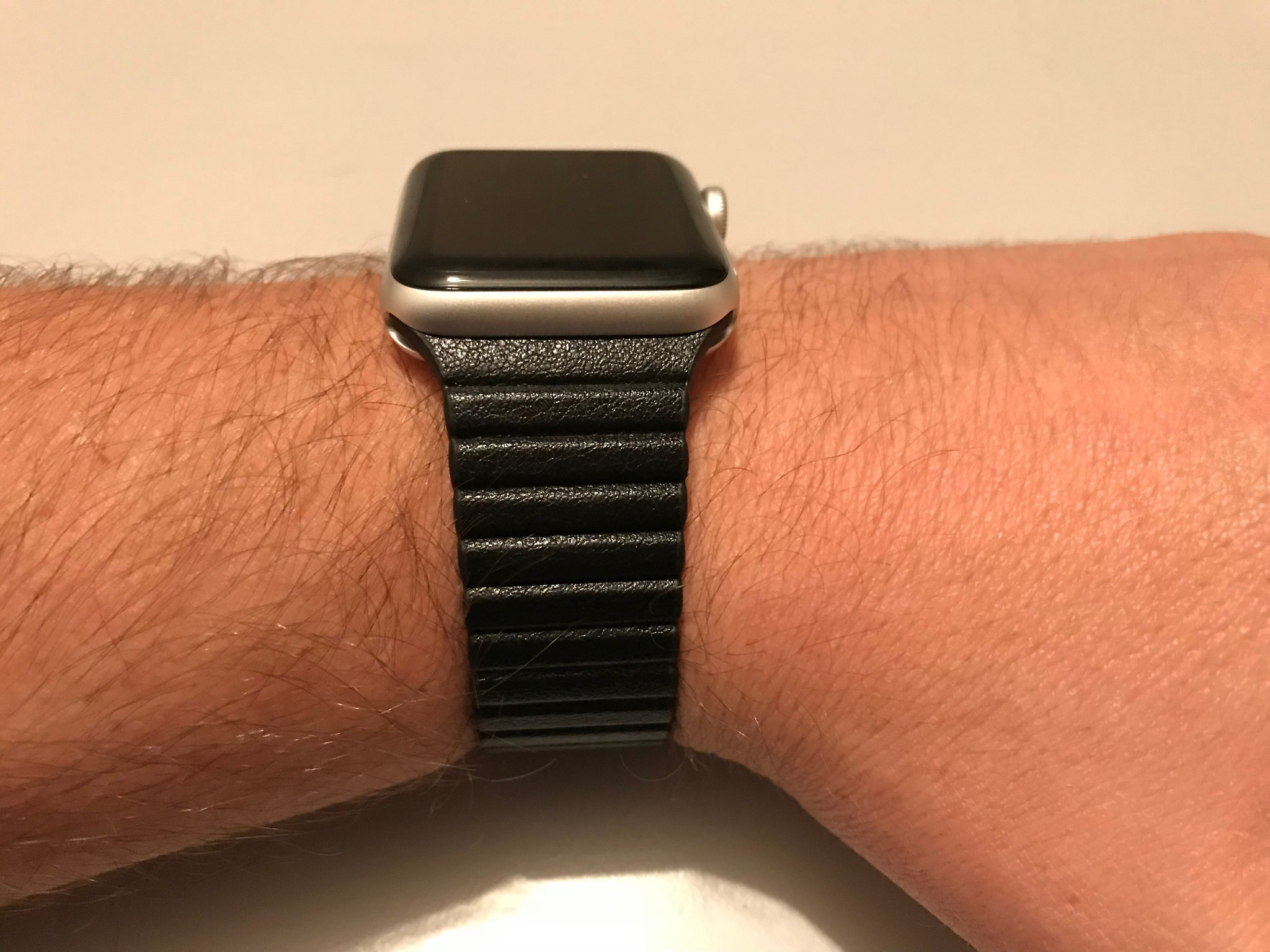 Casetify Black Magnetic Apple Watch Band 04