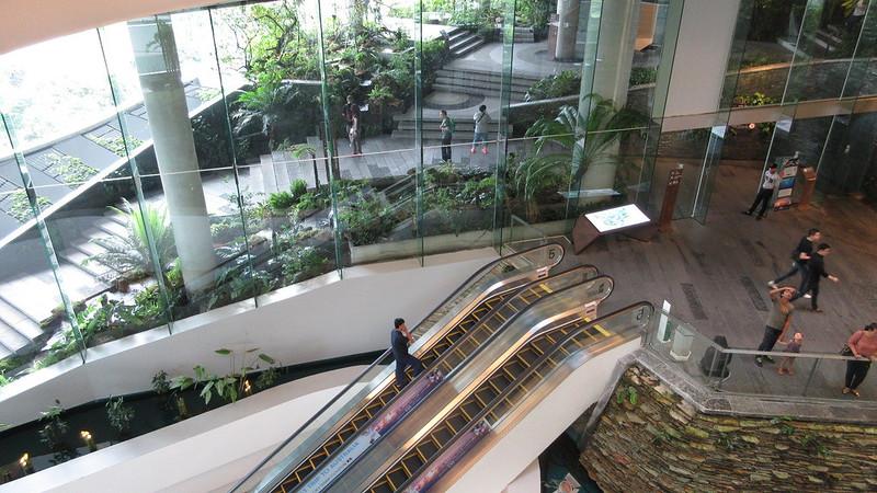 Amazing EmQuartier shopping mall Bangkok