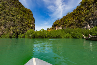 Hong island at Phang Nga bay, Thailand