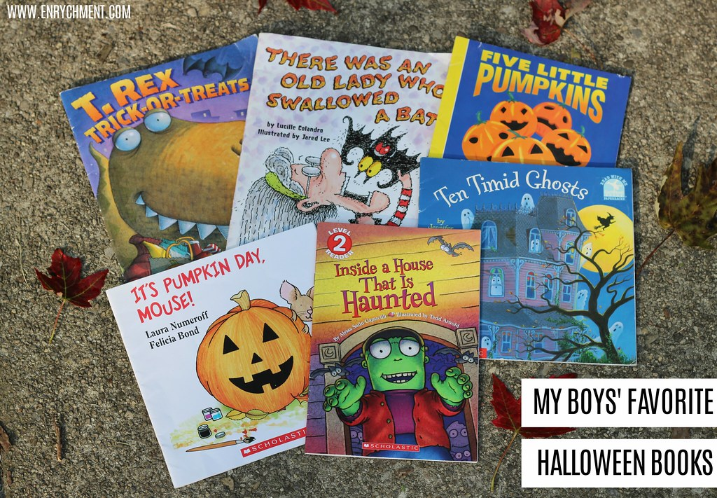 My boys' favorite Halloween books