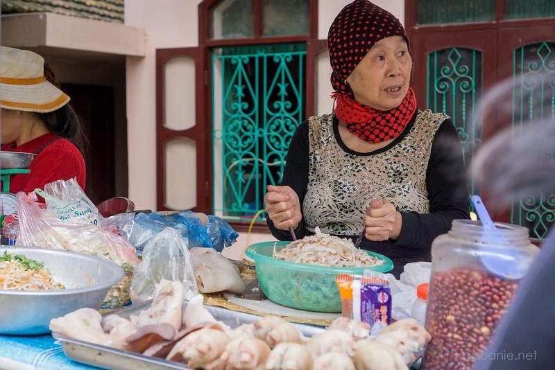 Sapa, Vietnam - street food