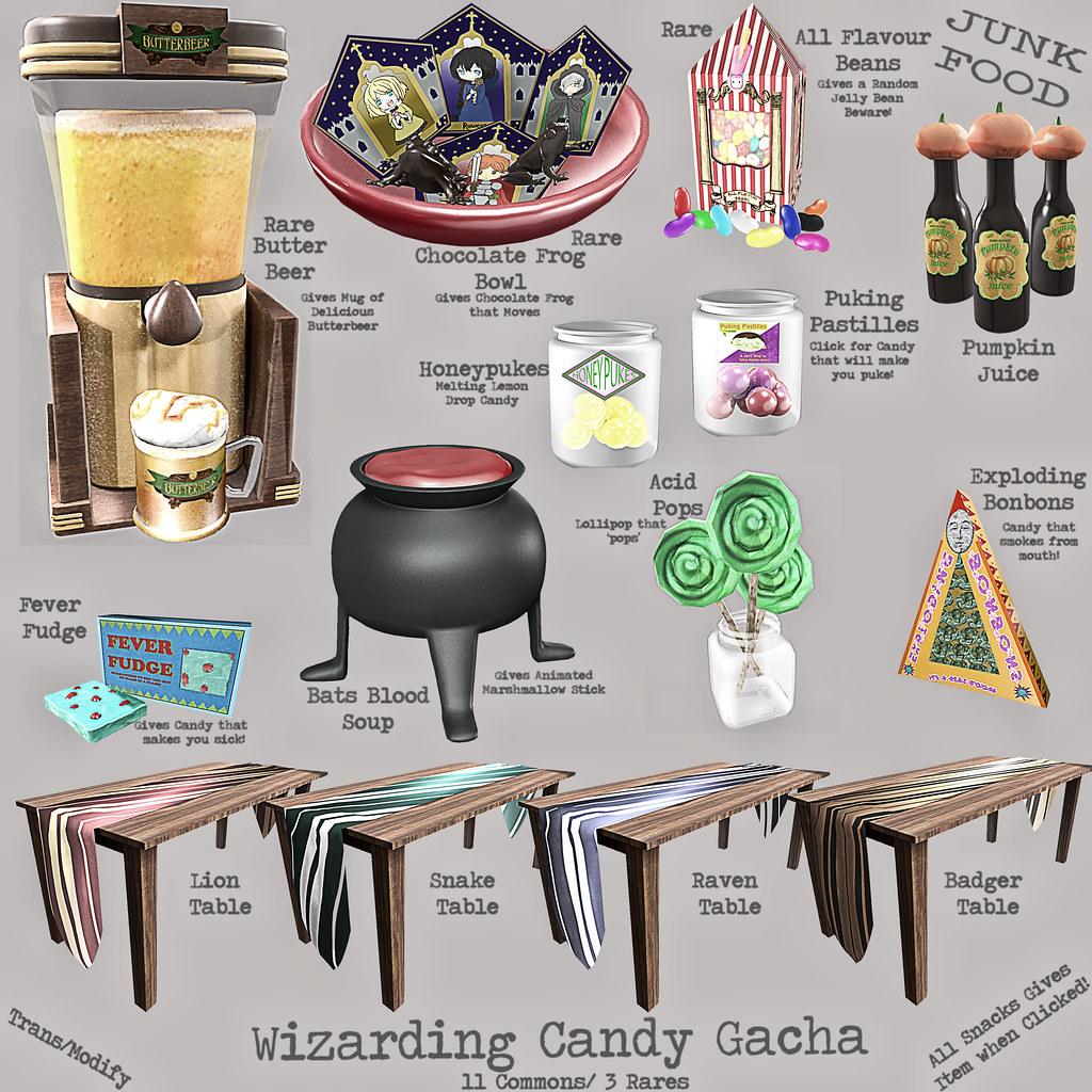 Junk Food - Wizarding Candy Gacha - TeleportHub.com Live!