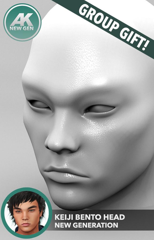 [AK] Keiji Bento Head - TeleportHub.com Live!