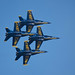 The US Navy Blue Angels by Leticia Roncero