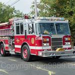 Demarest NJ Engine Fire Truck, 2017 Northern Valley Fire Chiefs Parade, Northvale, New Jersey