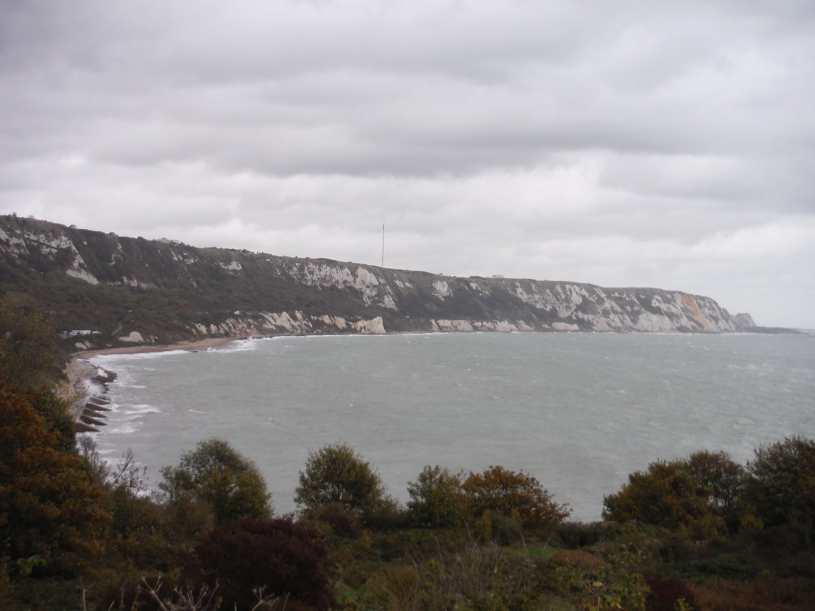 White Cliffs of... SWC Walk 93 - North Downs Way: Sandling to Folkestone or Dover