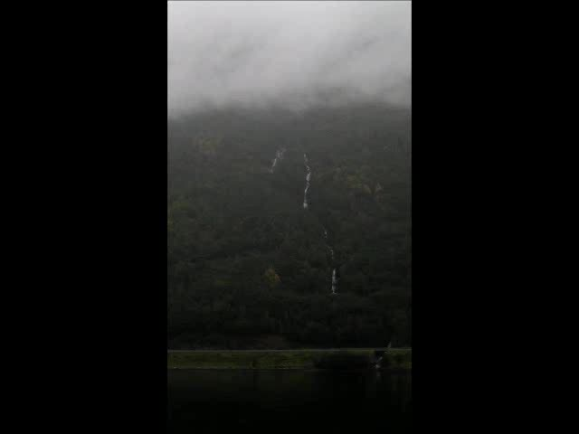 """""""Our"""" Waterfall, Aurlandsfjord"""