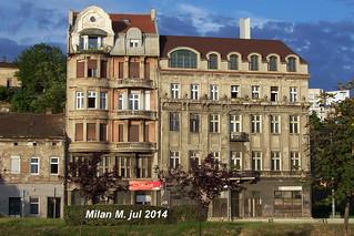 Old facade in Karadjordjeva street