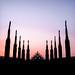 Milan sunset at Duomo by DFiveRed