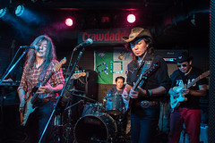 Rory Gallagher Tribute Festival in Japan - jam session at Crawdaddy Club, Tokyo, 21 Oct 2017 -00475
