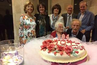 Noicattaro. Nonna Camilla compie 104 anni front